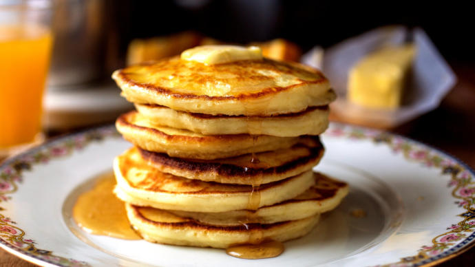 Cooked pancakes vs raw batter?