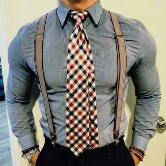This tie go with this shirt? or something darker.?