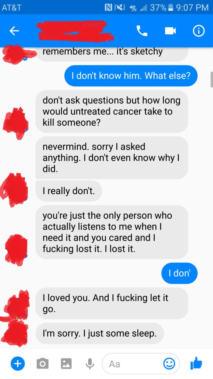 (WITH PICTURES) What should I do if my ex acts like this?
