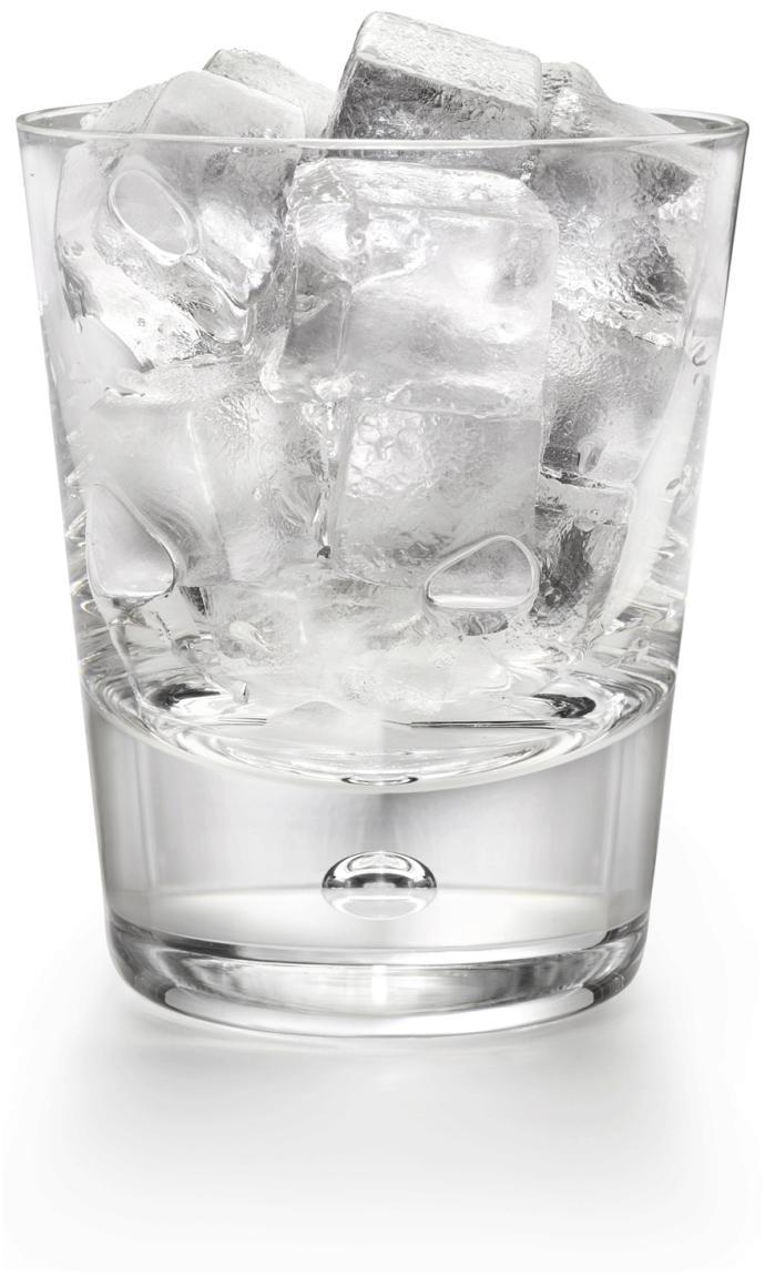 When you get a cold drink how much ice do you put in it?