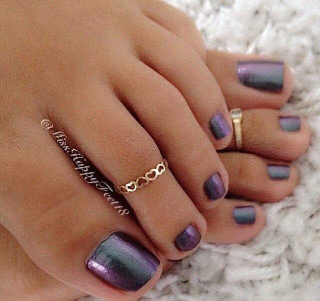 Painted Toe Nails, Yes Or No?