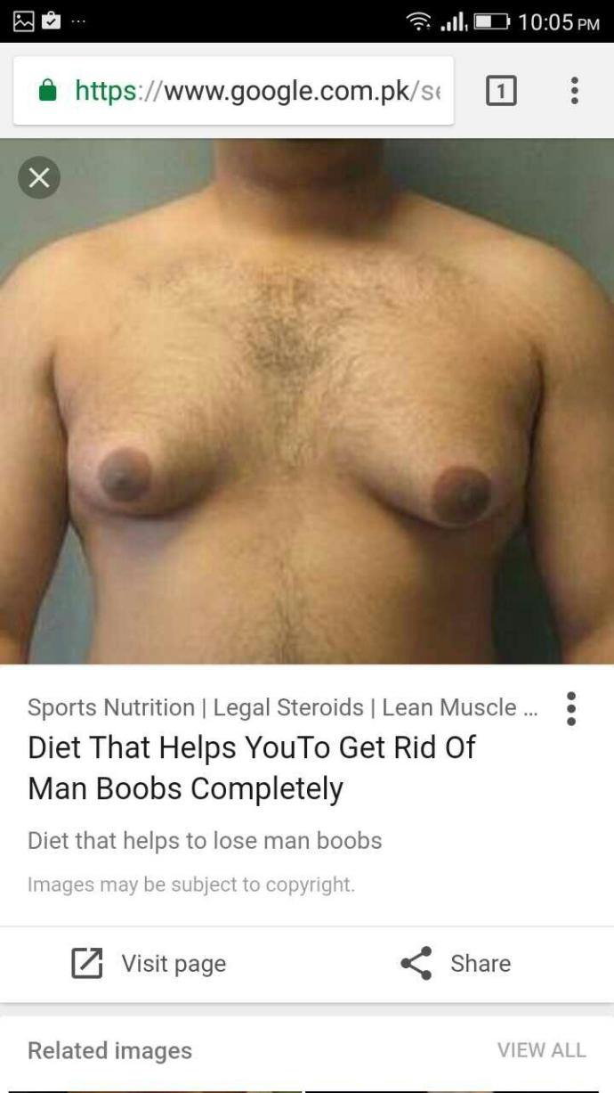 do girls like big chest on men, man boobs or just a normal guy??