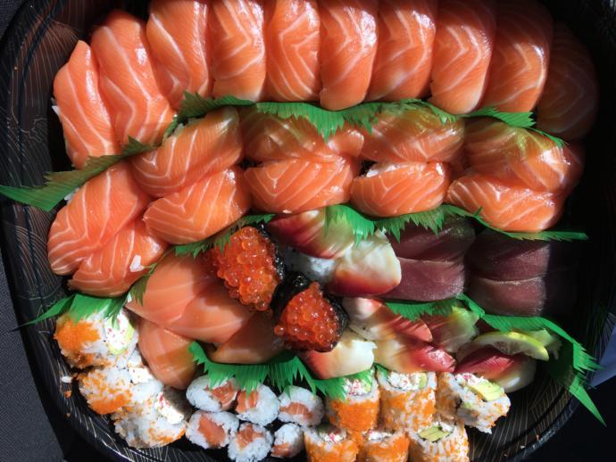 Conveyor belt sushi?