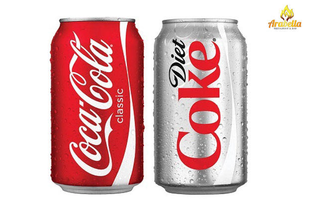 Can you taste the difference between coke and diet coke?
