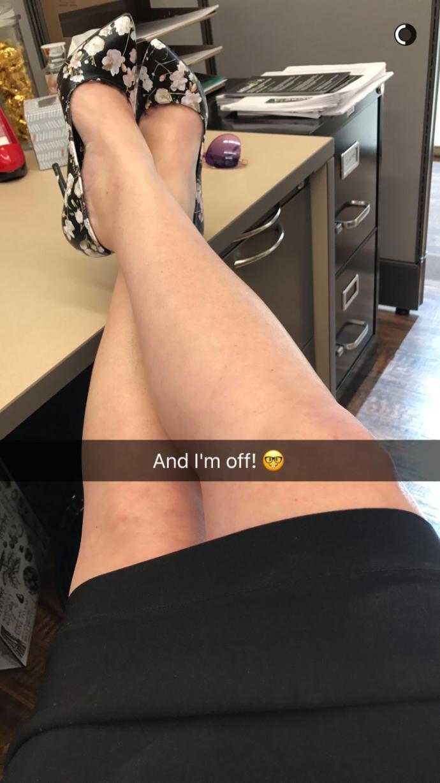 Do you like her heels?