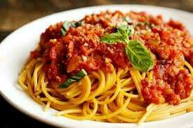 Do you think spaghetti bolognese is a children's dish??
