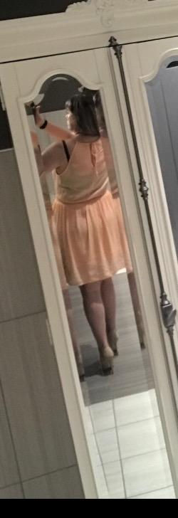 Today's edition of - do you like my friends' outfit and heels?