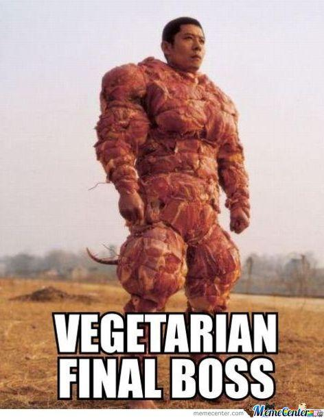 I don't know, Do you think Vegetarians and Vegans get more slack from Meat eaters and not vice versa?