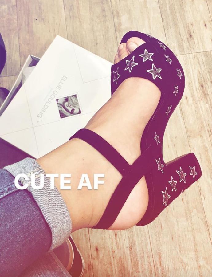 Do you like them shoes? :)?