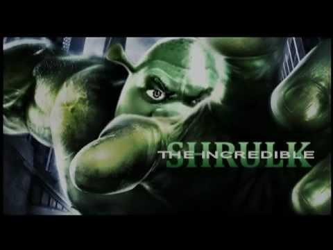 Who would you be more scared to piss off, the Incredible Hulk or the Incredible Shrulk/Shrek?