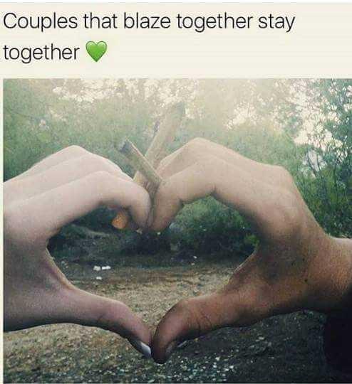 smoking together?
