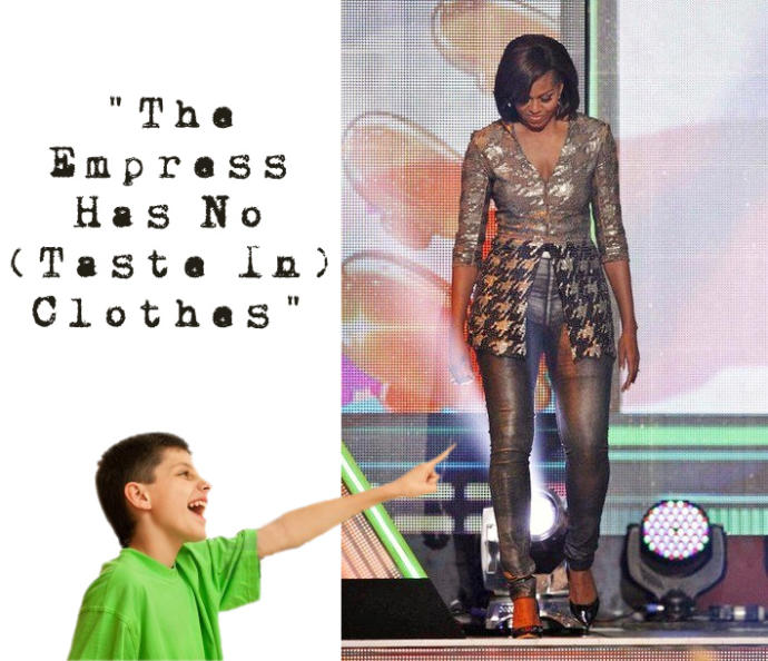 Do you find Michelle Obama trashy?
