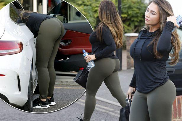 Can girls with big butts wear leggings as trousers?