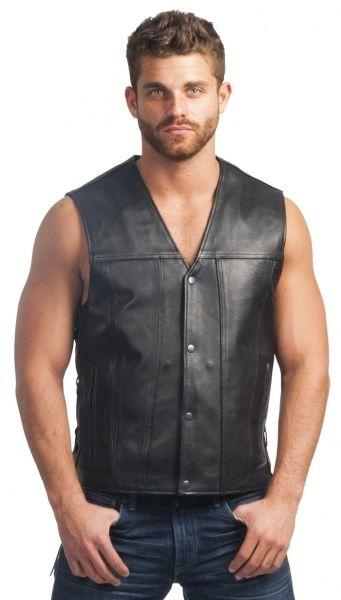 Anyone wear only a sleeveless waistcoat and jeans?