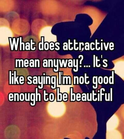 What Does Calling Someone Attractive Mean Anyway Girlsaskguys