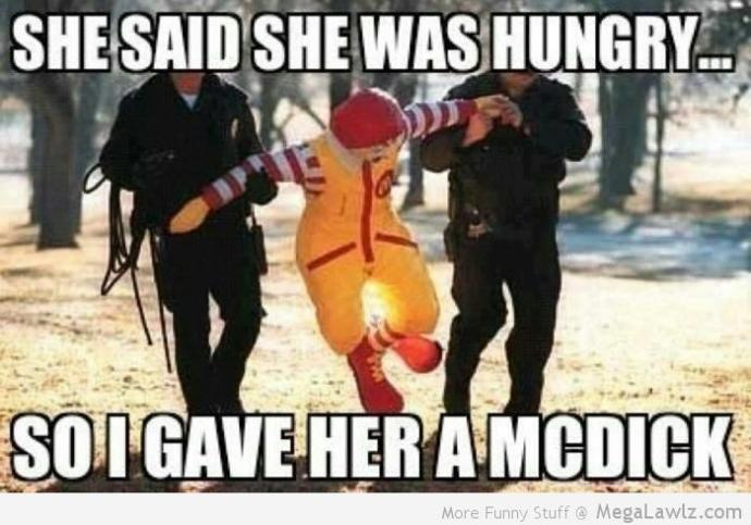 Anyone else stomach feel sore like there's lead in it after a McDonald's drive through?