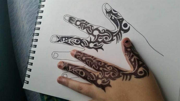 tribal tattoos?