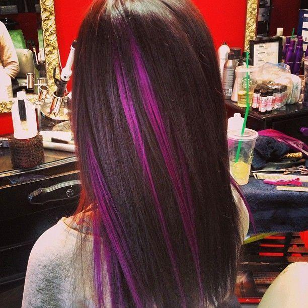 Are brightly coloured hair streaks tasteful or tacky?