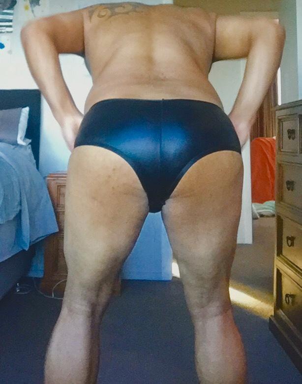 Men's satin black underwear?