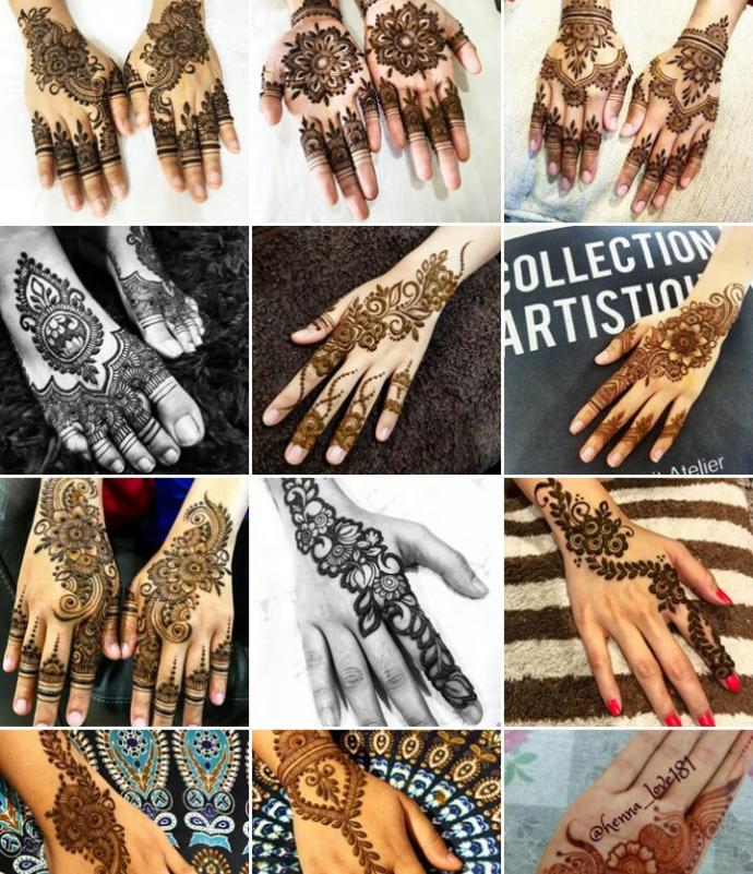 Who else just LOVES henna/mehndi designs?