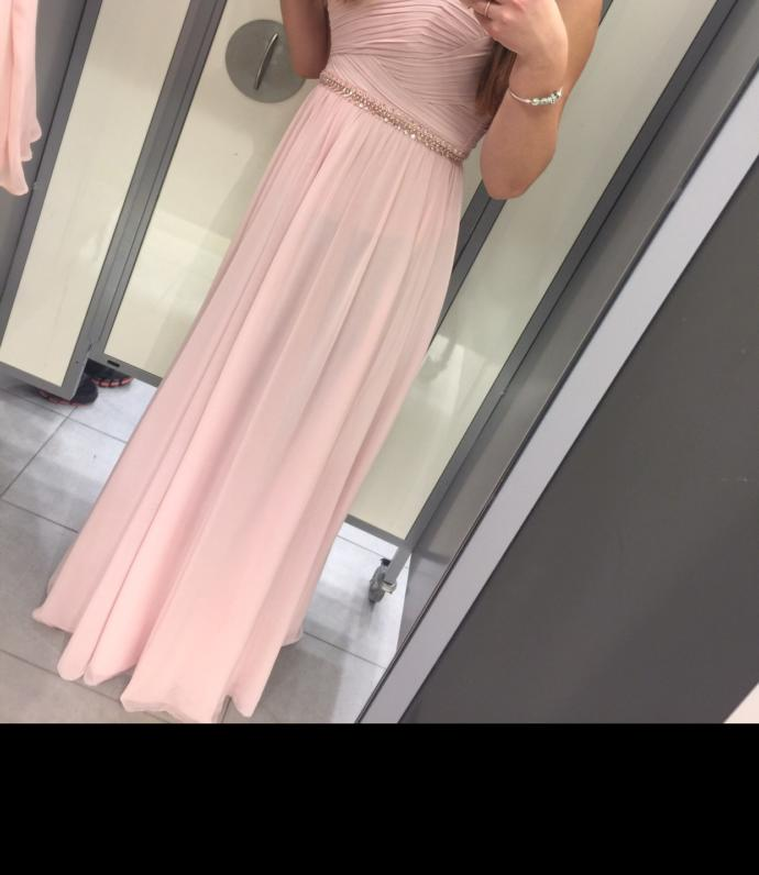 Girls, I have my grade 8 graduation next week and I think I made the mistake of buying a long dress for grad:( I feel like it's