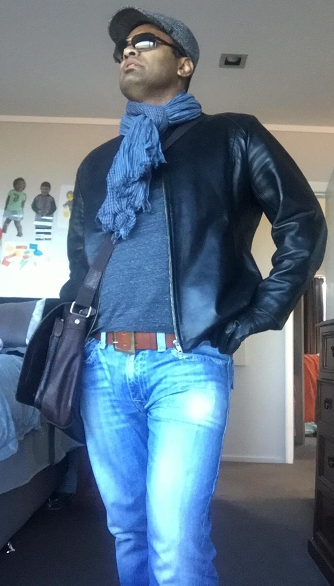 Leather jacket?