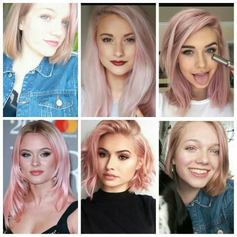 What do you think of girls with (pastel) pink hair ??