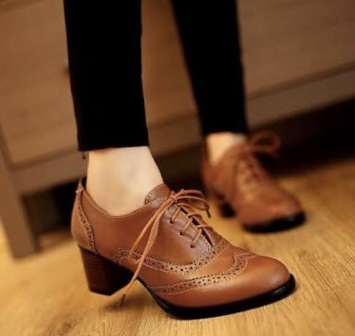 What do you think of Oxford Shoes (for woman) ?