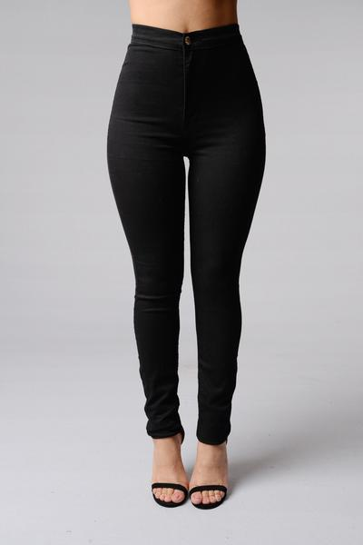 Why don't we see a lot of girl wearing high-waisted pants?