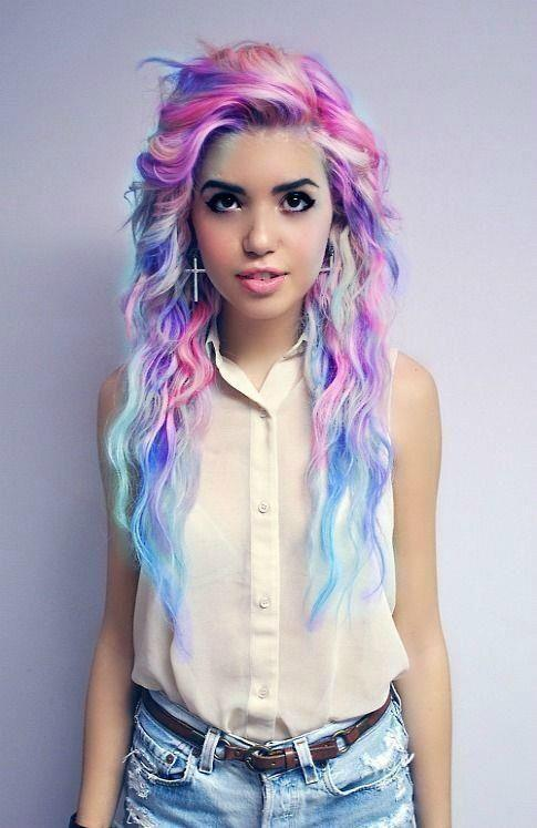 Are females that dye their hair random colors usually mentally ill?