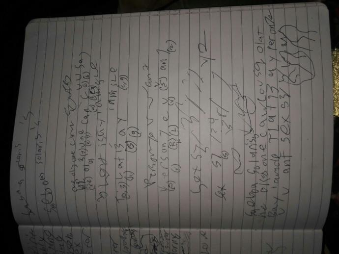 my SO acting really off..he's writing in code? ??someone help decipher it?