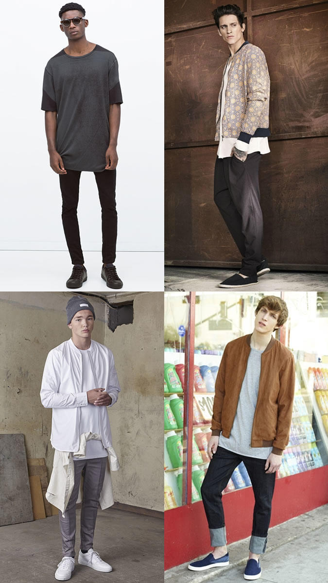 Girls, do you like the oversized tee style on skinny men?