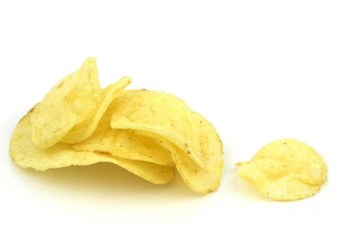Do you prefer folded or flat potato chips?