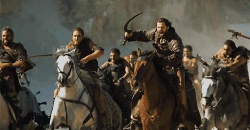 Alright geeks and nerds, The Dothraki Horde of Game of Thrones vs The Rohirrim of Lord of the Rings, Who Would Win?