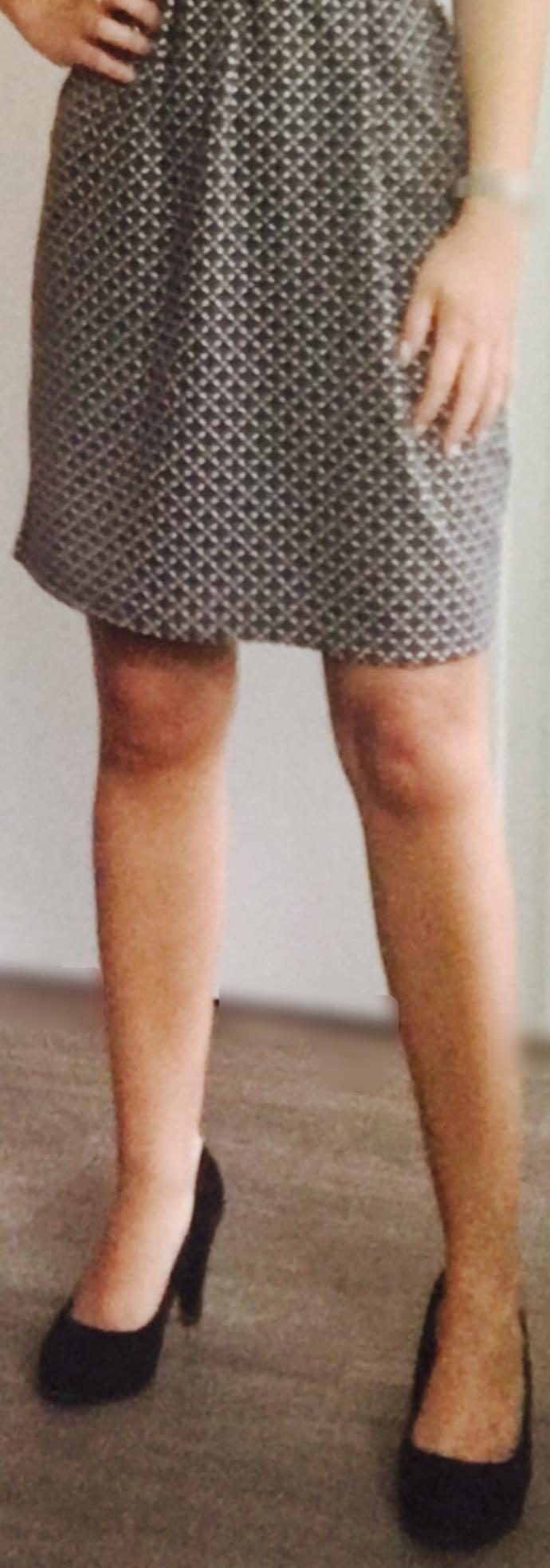 What do you think of that skirt? Is it too old-fashioned?