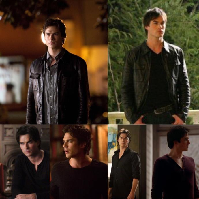 Do you find guys who have the Damon Salvatore style sexy?