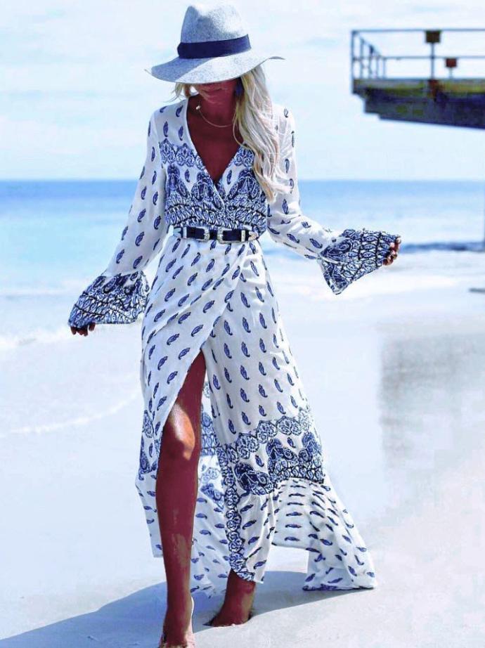 Which Bohemian style dress do you like?