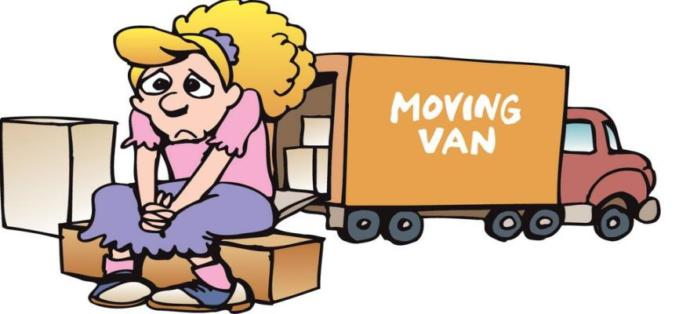 When was the last time u moved, or helped someone move, out of a residence?