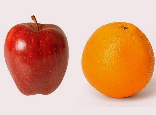 which one do u like to eat more? Just one of them, Apple or Orange?