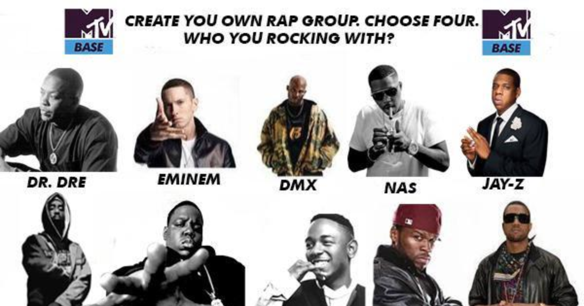 Choose 4 Rapper