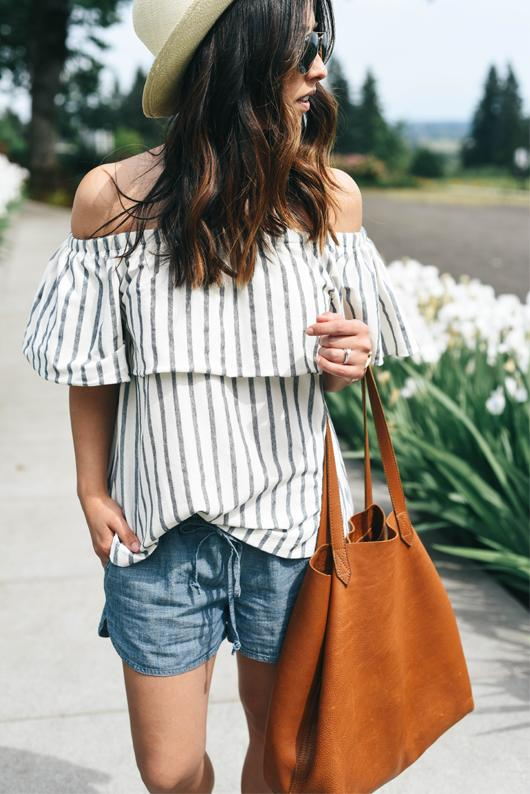 Thoughts on off-the-shoulder tops?