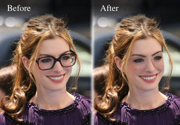 Do glasses make people look more confident?