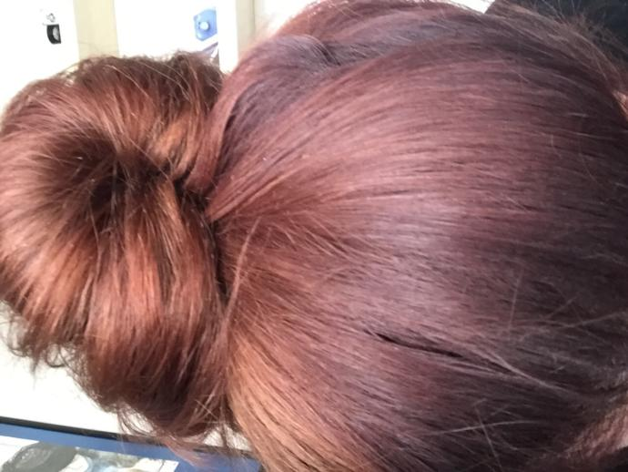 Hair dye mishap?