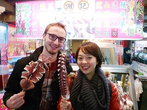 Have you ever eaten octopus feets?