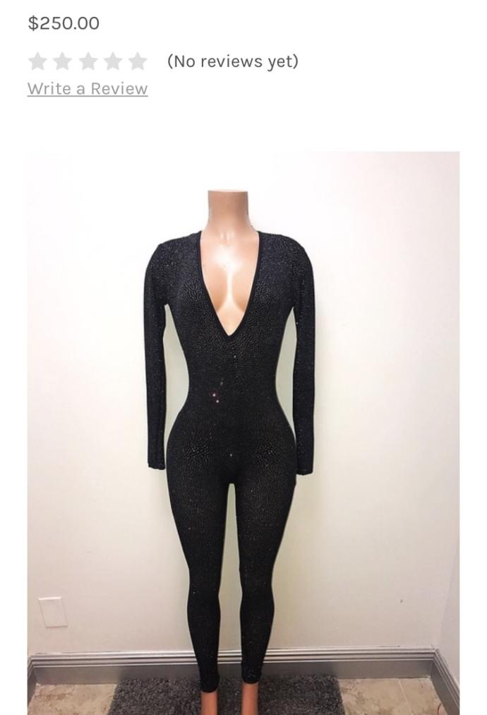 Is this jump suit too revealing for a pageant. ?