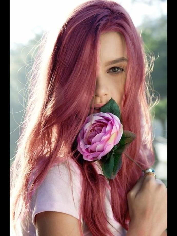 How do I conscience my mother to let me dye my hair pink?