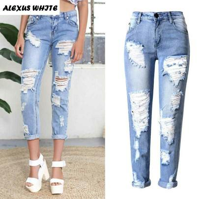 Why are holes in jean a trend/thing??
