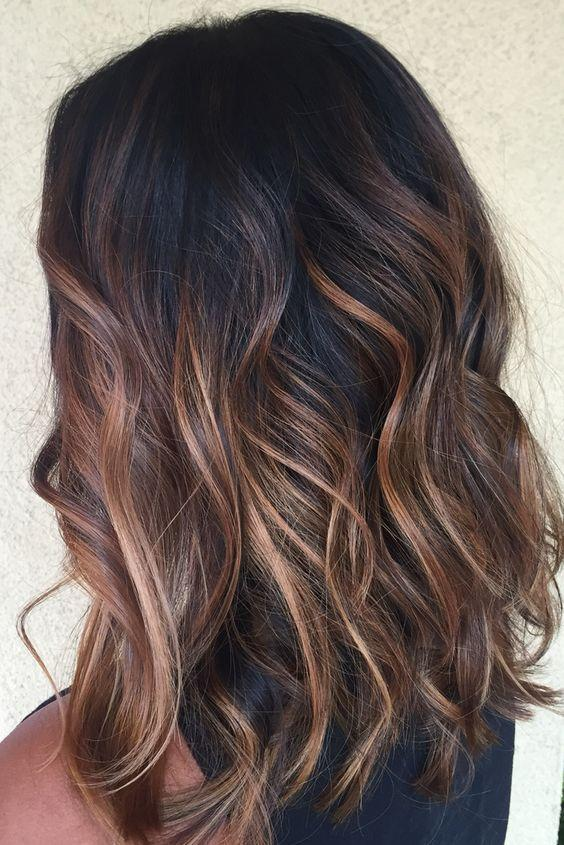 Do these highlights look good on black hair?