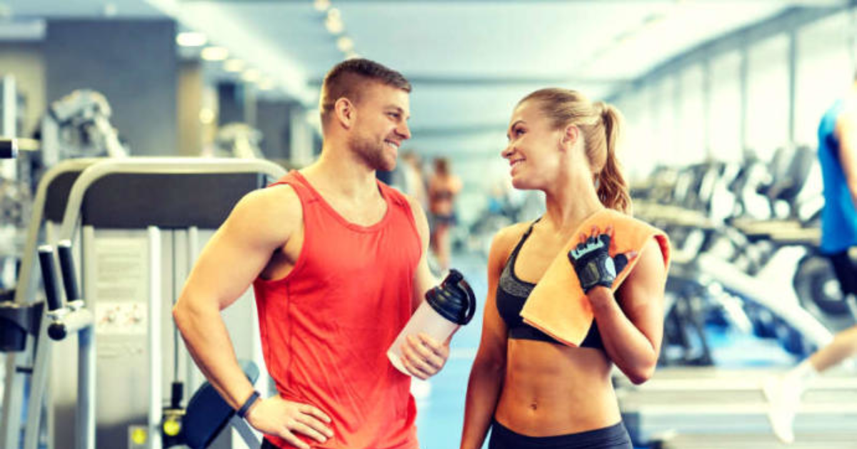 Have you ever flirted with someone at the gym?
