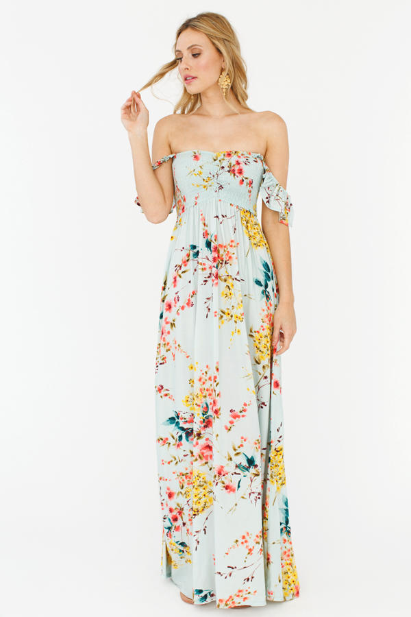 Which print does this dress look better in?